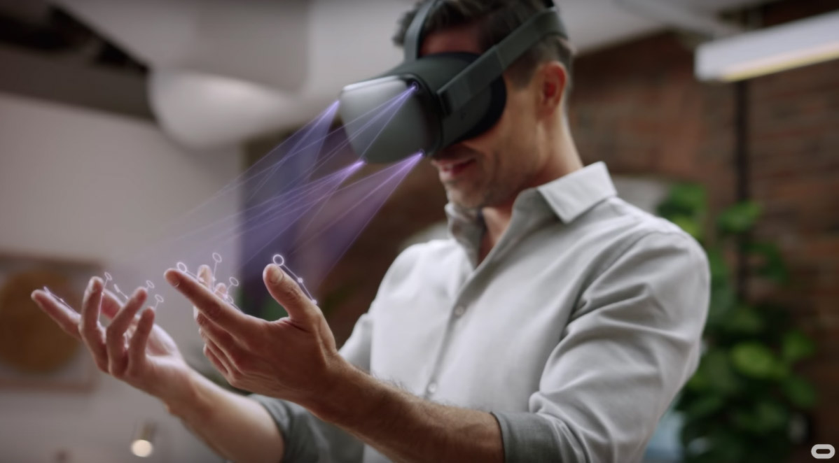 Oculus Quest Hand-tracking Starts Rolling Out This Week, Developer SDK Next Week