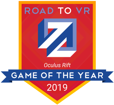 Road To Vr S 2019 Game Of The Year Awards Road To Vr