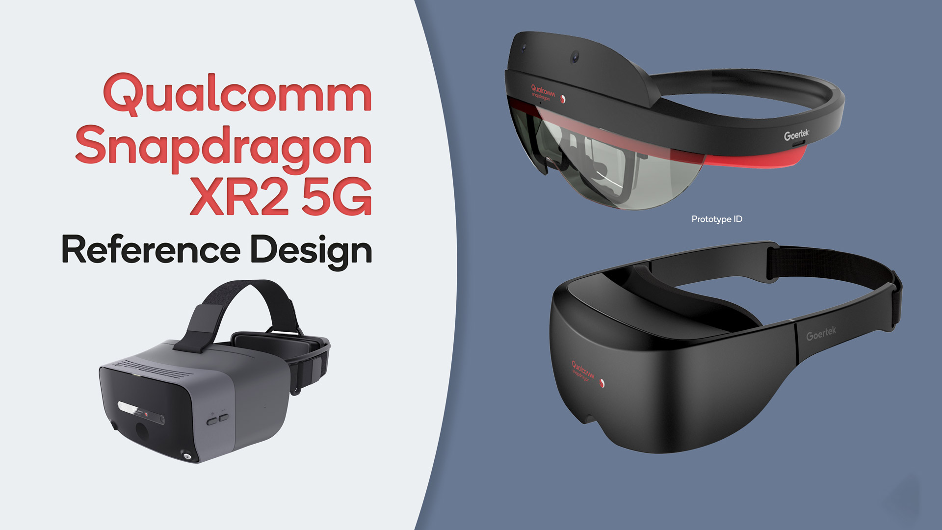 Qualcomm Reveals New Reference Designs for XR2-powered VR & AR Headsets