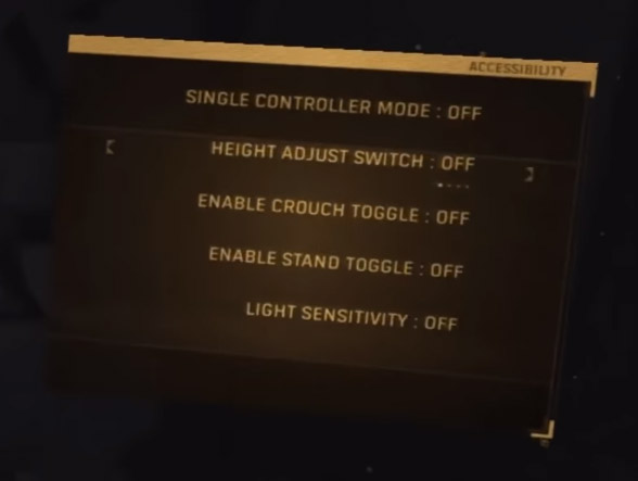 Alyx Accessibility Choices Embrace Subtitles & Single Controller Mode 7