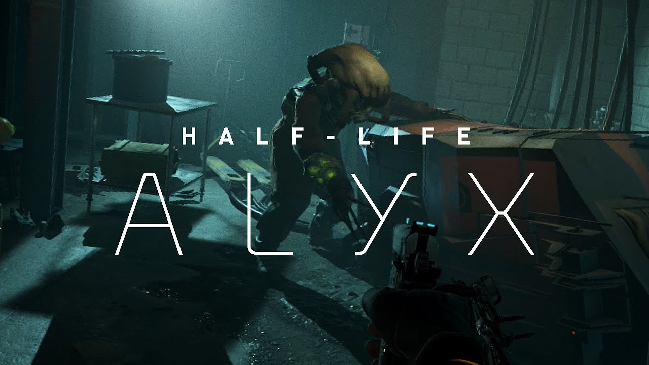 Watch Half-Life: Alyx Gameplayer Trailer & New Footage