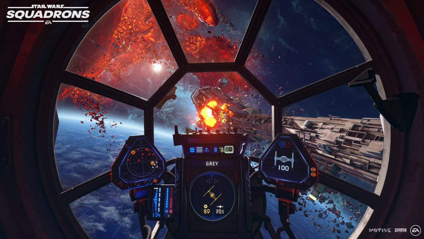 'Star Wars: Squadrons' Gets First Gameplay Trailer, October Release Date