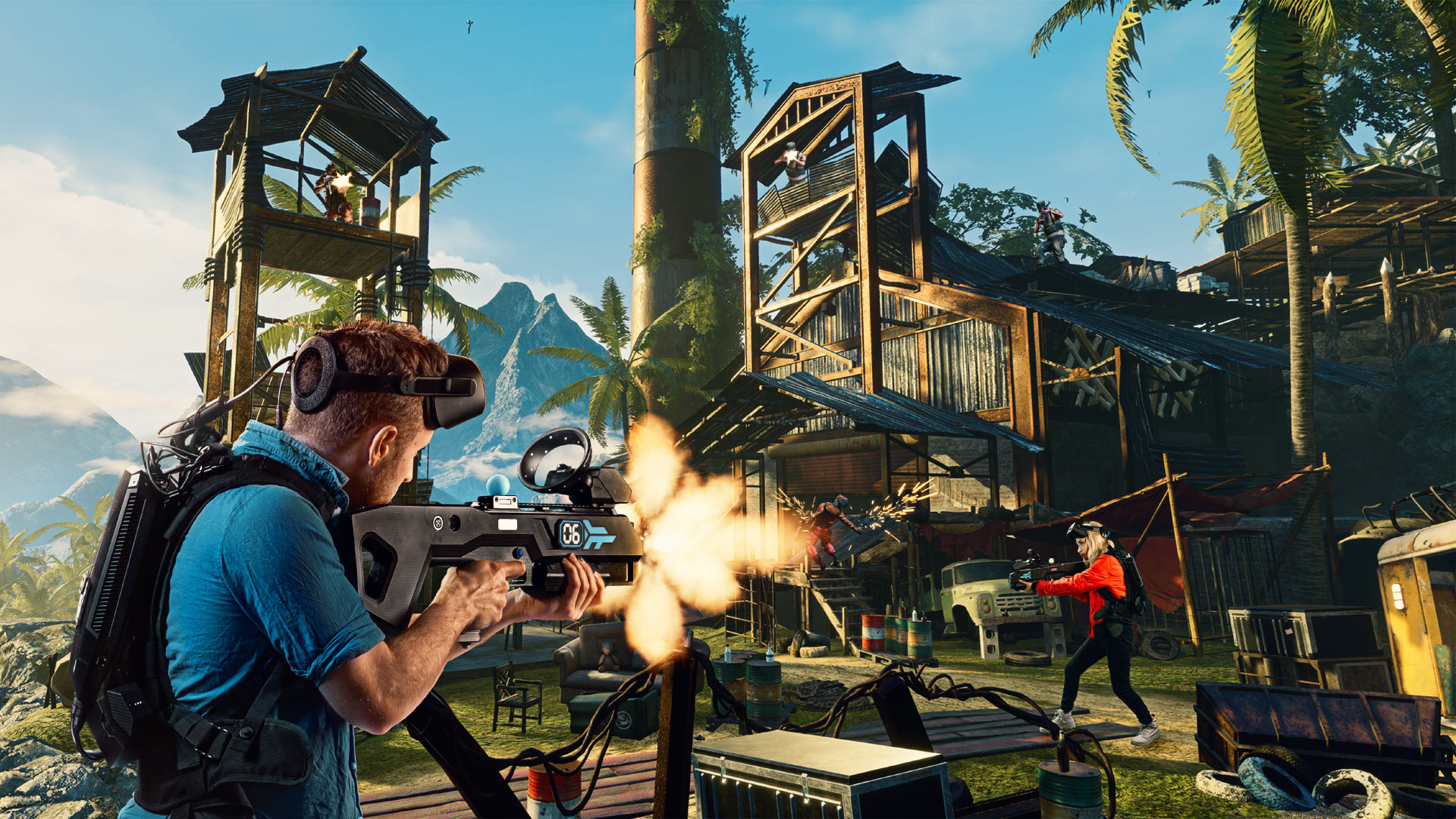 Ubisoft Announces Far Cry VR Eight-player VR Arcade Experience
