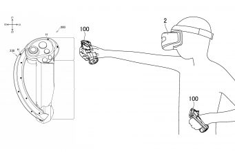 Sony Patent Reveals VR Controller Design Seemingly Inspired by Valve Index