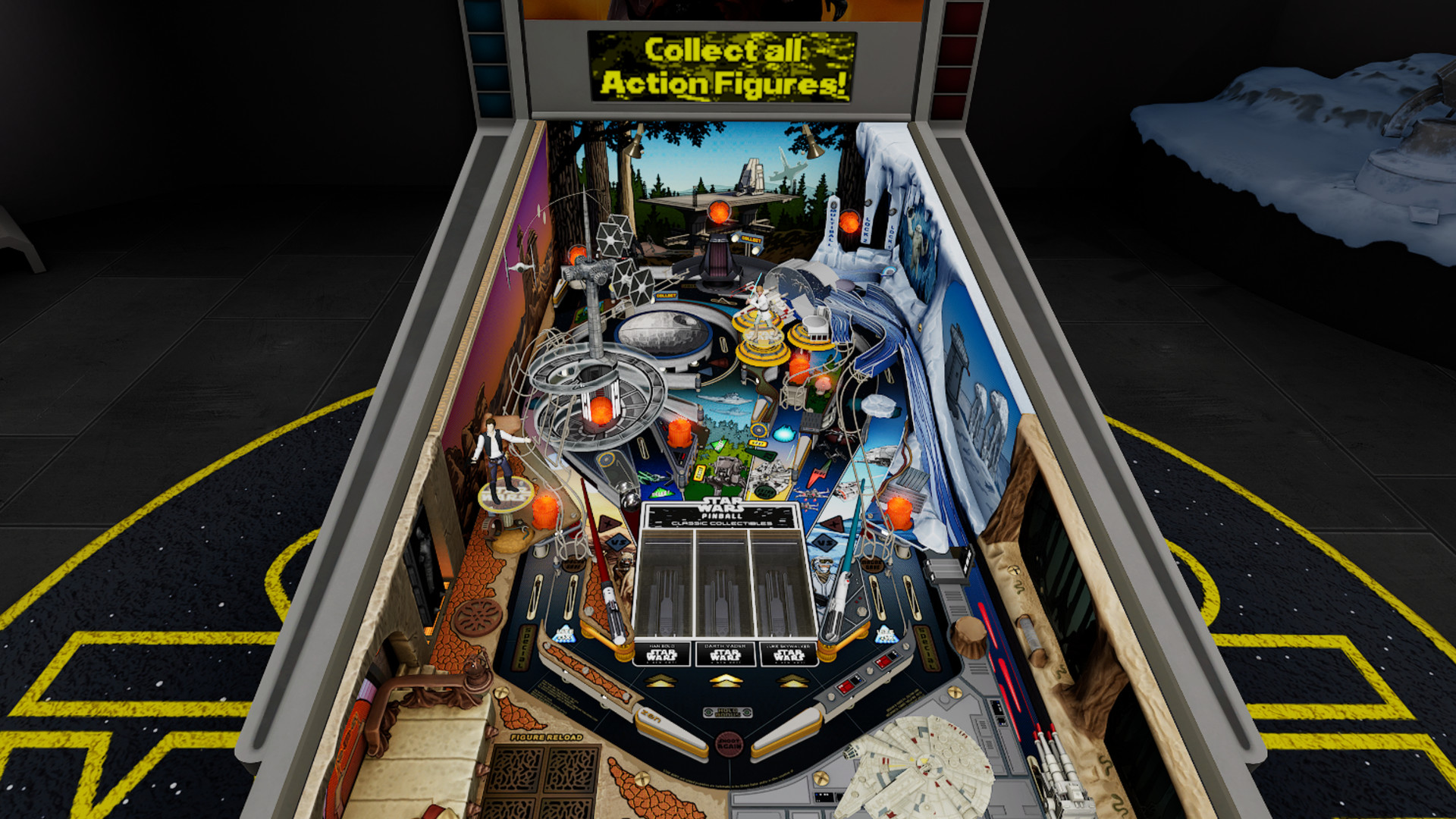 'Star Wars Pinball' Coming to All Major VR Headsets Next Month, Trailer Here