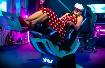 Yaw2 Motion Simulator Chair Attracts $1M in First Week on Kickstarter