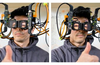 Facebook Researchers Show 'Reverse Passthrough' VR Prototype for Eye-contact Outside the Headset