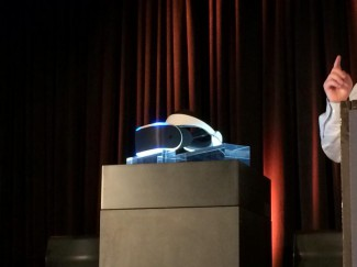 Project Morpheus as Unveiled Onstage
