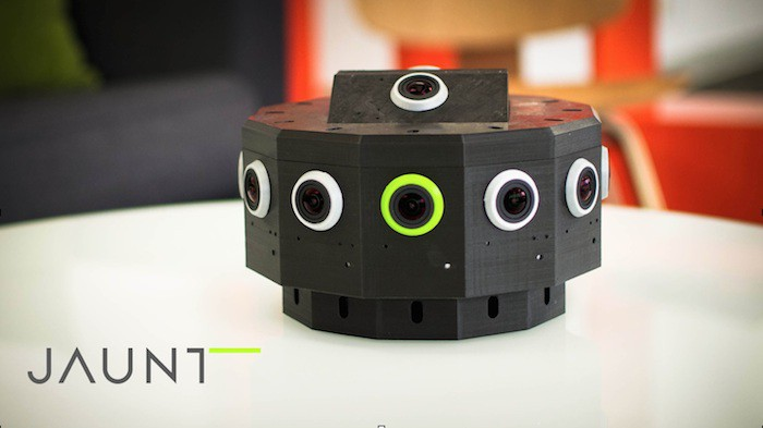 Jaunt VR second camera prototype