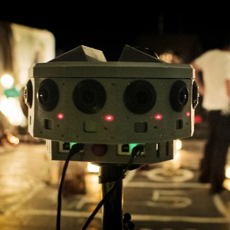 Jaunt VR Camera Array, On the set of Black Mass
