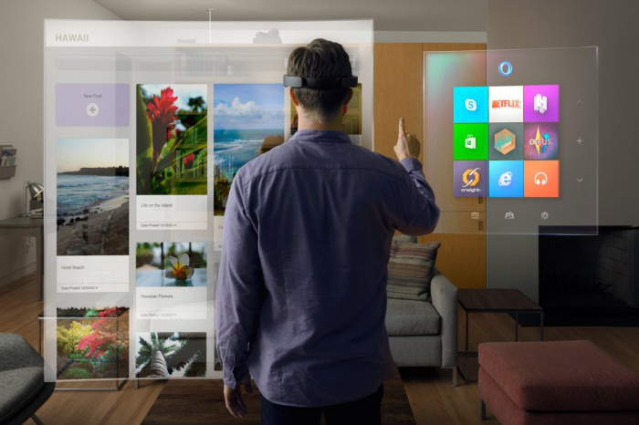 microsoft hololens windows universal apps