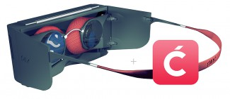 ping vr render lenses and temple struts